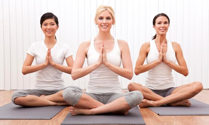 Amen Yoga - South Mays Commercial Park: 10 or 20 Yoga Classes at Amen Yoga (51% Off)