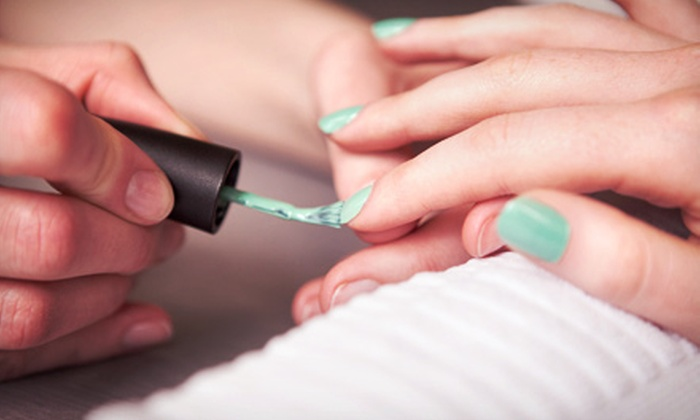 Color Nails - Washington: One Paraffin Gel Manicure or Two Groupons, Each Good for One Paraffin Gel Manicure at Color Nails (Up to 51% Off)