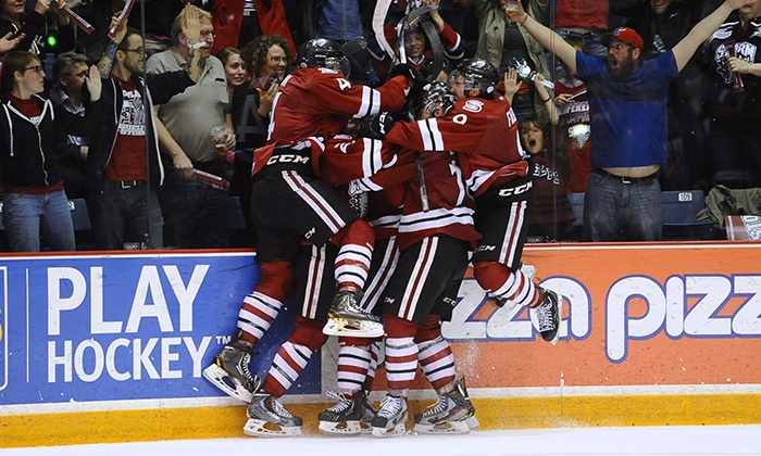 Guelph Storm - Multiple Locations: Guelph Storm Hockey Game for Four on Saturday, December 19, at 2 p.m.
