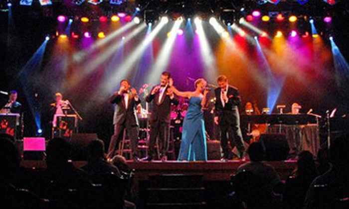 """Shades of Sinatra"" presented by Ray Wolf Productions - The Strip: ""Shades of Sinatra"" Concert with VIP Seating for One or Four at the Wolf Theater in the Clarion Hotel & Casino (Up to 55% Off)"