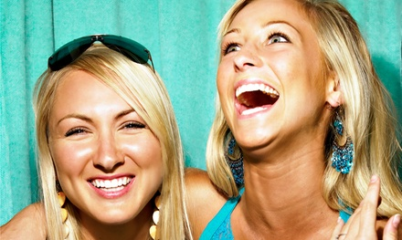 Two or Four-Hour Photo Booth Rental With Prints On Site from Social Confetti Events (Up to 65% Off)