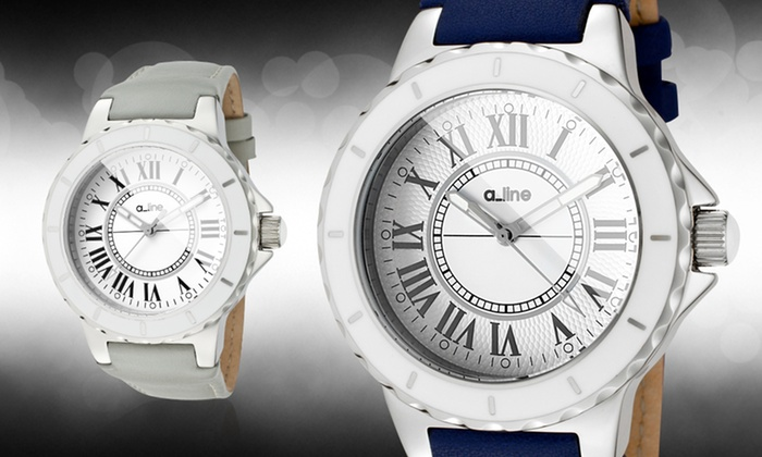 a_line Women's Marina Watches: a_line Women's Marina Watch (Up to 78% Off). Multiple Options Available. Free Shipping and Returns.