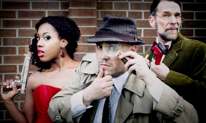 The Murder Mystery Company - Boston: Dinner Show for One or Two from The Murder Mystery Company (47% Off)