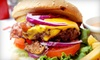 Fast Eddie's Burgers-Tulsa - Sun Meadow: Two or Four Cowboy Bacon-Cheeseburger Meals at Fast Eddie's Burgers (53% Off)