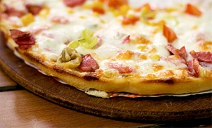 Track Town Pizza: Pizza at Track Town Pizza (Up to 39% Off). Two Options Available.