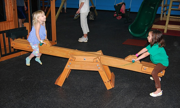 PlayNation Party Play and Playsets Greenville - USA Play: $20 for Eight Indoor Playground Play Sessions at PlayNation Party Play and Playsets (Up to $48 Value)