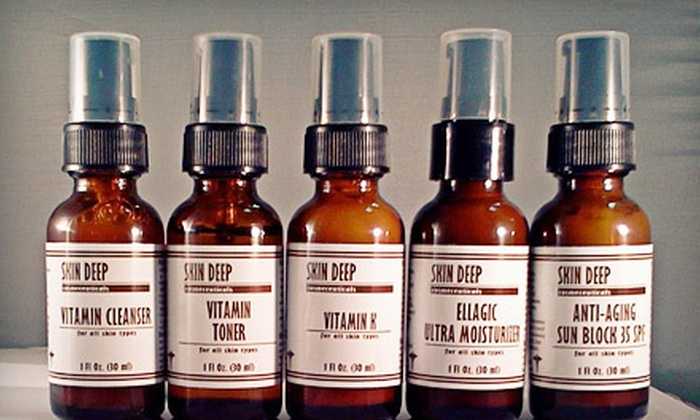 Studio Skin Deep: Organic Oily/Acne Skin Kit or Organic Dry/Sensitive Skin Kit from Studio Skin Deep in New Smyrna Beach (Up to 70% Off)
