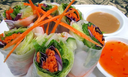 Thai Cuisine and Drinks for Two or Four at Freshly Thai (Up to 52% Off)