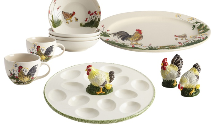 Paula Deen Southern Rooster Collection Serving Pieces: Paula Deen Southern Rooster Collection Serving Piece. Multiple Pieces Available from $8.99–$19.99. Free Returns.