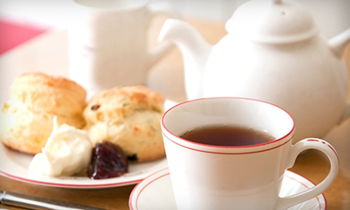 The Tea Room - Costa Mesa: Afternoon Tea for Two or Four at The Tea Room (Up to 63% Off)