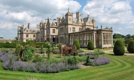 Lincolnshire: Standard Room with Breakfast and Option Course Dinner at 4* Stoke Rochford Hall Hotel