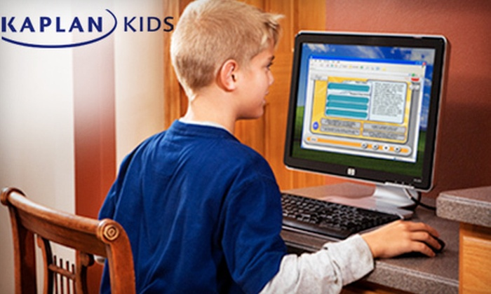 Kaplan Kids: Six Months of K–8 Online Program for One or Two Students from Kaplan Kids (Up to 57% Off)