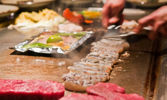 Yamamoto Japanese Grill & Sushi - Fayette Mall: $15 for $30 Worth of Sushi and Hibachi at Yamamoto Japanese Grill & Sushi