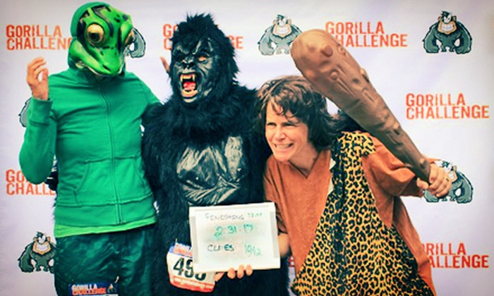 Gorilla Challenge - Houston: Entry for Two, Four, or Six to the Gorilla Challenge City Race on September 15 (Up to 56% Off)