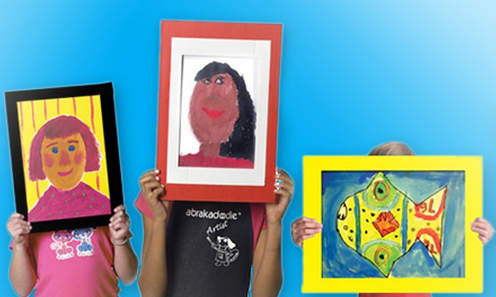 Abrakadoodle - Kings Park: $125 for a Birthday Arty Party for Up to 10 Kids at Abrakadoodle ($250 Value)