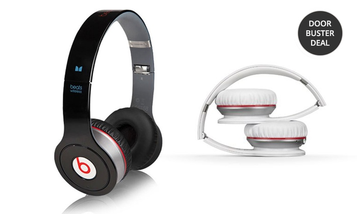 Beats by Dre Wireless Bluetooth On-Ear Headphones: Beats by Dre Wireless Bluetooth On-Ear Headphones in Black or White. Free Returns.