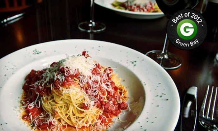 Bella Vita Ristorante - Downtown Appleton: $20 for $40 Worth of Italian Cuisine at Bella Vita Ristorante