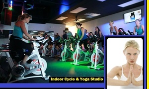 Changing Gears, Inc.: Up to 53% Off Cycle, Zumba, Pilates Mat & Yoga at Changing Gears, Inc.