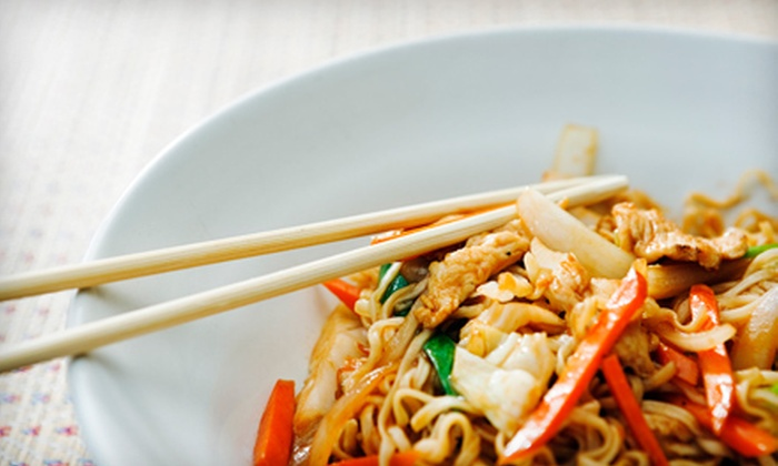 New Thai Kitchen - East Roseville Parkway: Thai Cuisine at New Thai Kitchen (Half Off). Two Options Available.