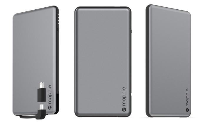 hot sales 137d1 a234c Mophie Powerstation Plus Mini 4,000 mAh Battery Power Adapter