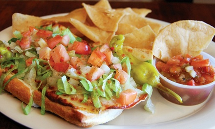 Pub Food and Drinks for Two at Old Towne Pub and Eatery (Up to 50% Off)