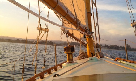 Two-Hour Private Sailing Tour for up to Five from California Classic Sail (Up to 42% Off). Two Options Available.