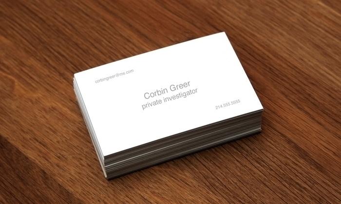 Minuteman Press Richardson - Richardson: $20 for 1,000 Full-Color Business Cards from Minuteman Press Richardson ($40 Value)