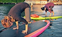 GROUPON: Up to 51% Off Standup-Paddleboard-Yoga Classes WASUP Yoga