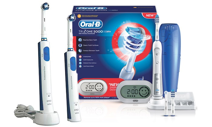 brosse dent lectrique oral b groupon shopping. Black Bedroom Furniture Sets. Home Design Ideas