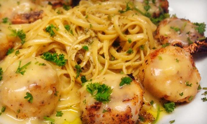 Candicci's Italian Restaurant - Ballwin: Italian Dinner with Wine for Two or Four Friday–Sunday at Candicci's Italian Restaurant in Ballwin (Up to 55% Off)