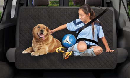 Dual-Purpose Backseat Cover