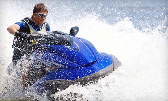 Seaforth Boat Rentals - Mission Bay: $99 for Two-Hour WaveRunner Tour of the La Jolla Coastline from Seaforth Boat Rentals (Up to $249 Value)