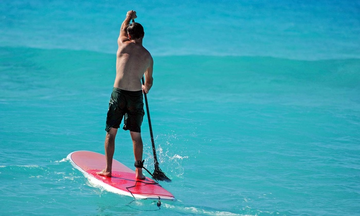 Peter Pan Surfing Academy - Narragansett Surf & Skate Shop: $45 for a One-Hour Group Standup-Paddleboard Lesson for Two ($90 Value)