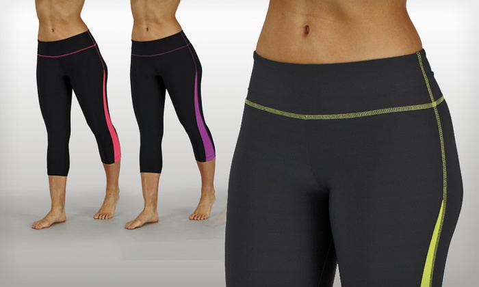 Bally Fitness Color-Block Leggings: $17.99 for Bally Fitness Color-Block Leggings ($52 List Price). 6 Colors Available. Free Shipping and Returns.