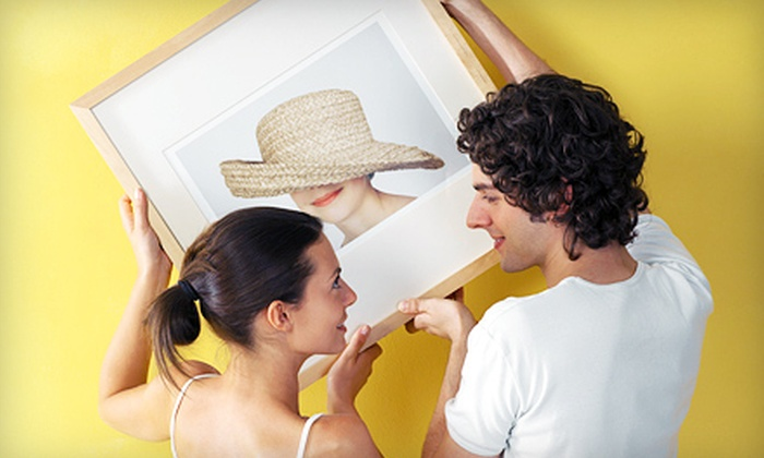Framemaker - Pike Creek-Central Kirkwood: Frames and Framing Services at Framemaker (Up to 57% Off). Two Options Available.