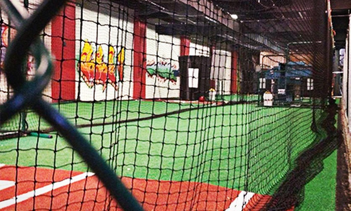 Philly Athletics - Fairhill: Batting-Cage Hitting for One or Two at Philly Athletics (Half Off)