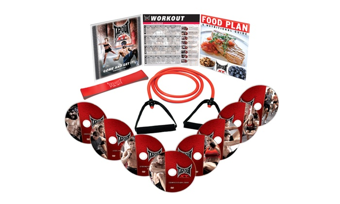 TapouT XT: Extreme Training Locker Pack DVDs: TapouT XT: Extreme Training Locker Pack DVDs with Resistance Band. Free Returns.