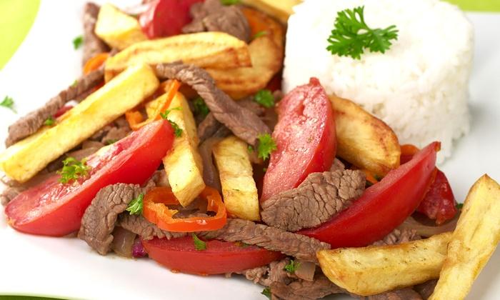 Peru Peru Grill - Northwest Anaheim: $15 for $25 Worth of Peruvian Food for Two or More at Peru Peru Grill
