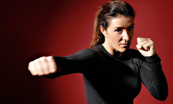 Kapow! Combative Sport - Toronto: One or Three Months of Women's Fitness and Self-Defense Classes at Kapow! Combative Sport (Up to 84% Off)