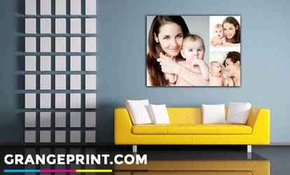 image for Personalised Canvas in Choice of Sizes from £2.95 (Up to 93% Off)