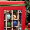 Home Basics Ornament Storage Box