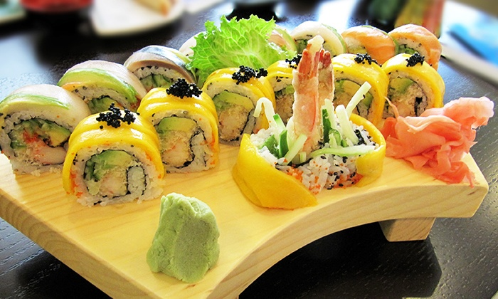Asia Feast Sushi Bar - Vaughan: C$22 for C$40 Worth of Sushi, Asian Food, and Drinks for Dinner at Asia Feast Sushi Bar
