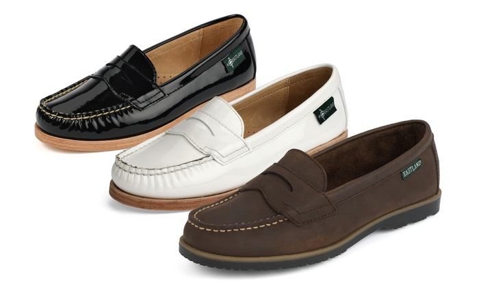 e53217cdaad Eastland Women s Leather Penny Loafers