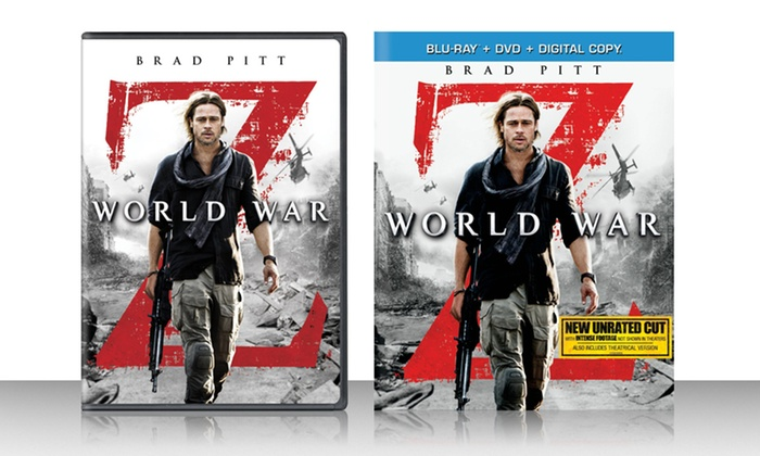 World War Z DVD or Blu-Ray: World War Z DVD or Blu-Ray. Multiple Options from $14.99 to $17.99. Free Returns.