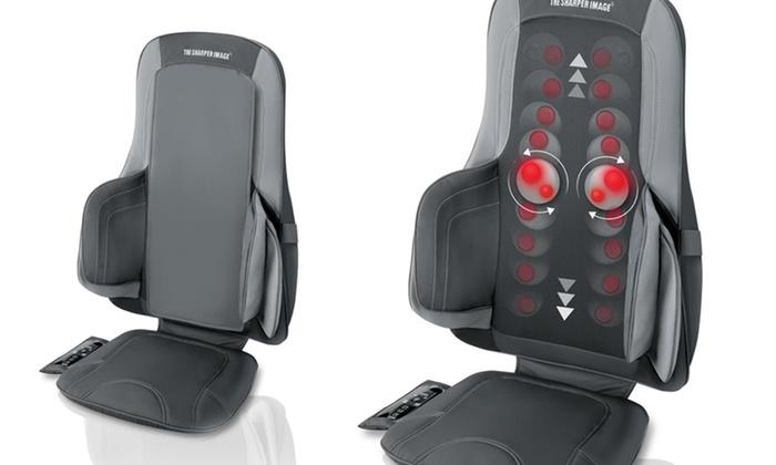 Sharper Image Air and Shiatsu Massage Chair Cushion: Sharper Image Air and Shiatsu Massage Chair Cushion. Free Returns.