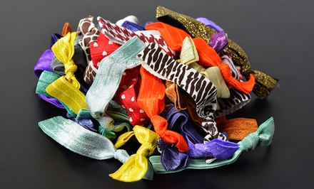 50-Pack Crease-Free Hair Ties