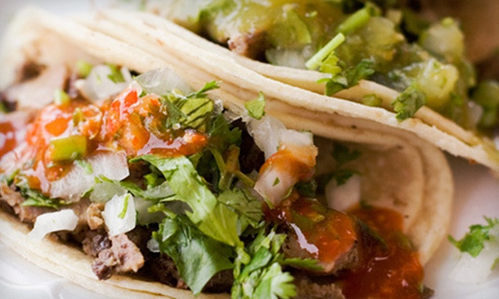 Azul Tequila Mexican Grill - Farragut: $15 for Three Visits for Mexican Food at Azul Tequila Mexican Grill ($30 Value)