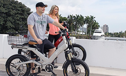 Four-Hour eBike Rental for Two, Four, or Six from eBikes on Demand (Up to 64% Off)
