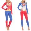 Undergirl DC Comics Women's Anatomical Top and Legging Set