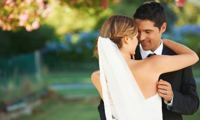Cavu Drone Wedding Videos - Chicago: 30-Minute On-Location Photo Shoot and Print Package from CAVU Drone Wedding Videos (76% Off)